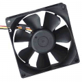 BLACK 80MM COOLING FAN