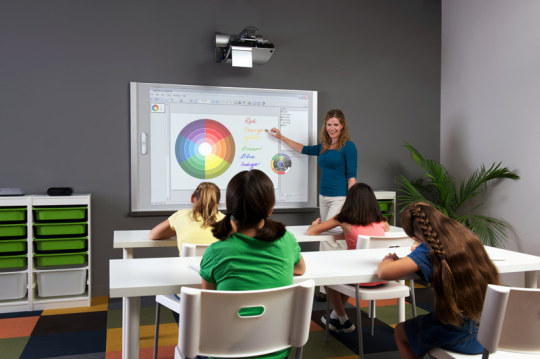 eBeamEdge Projection Classroom